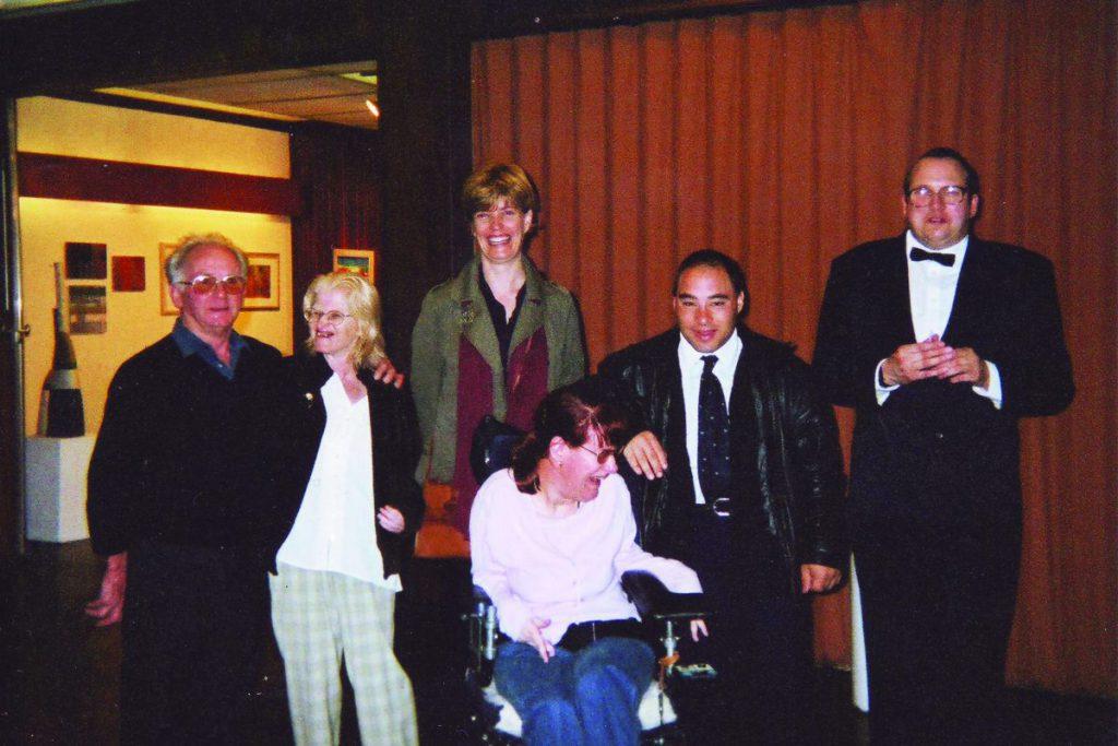 Sarah, Hilda, Stuart, Paul (1999)