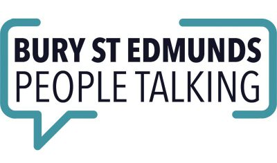 bury st edmunds people talking logo