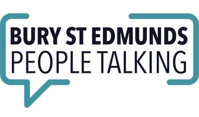 bury st edmunds people talking logo