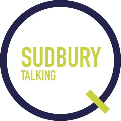 sudbury talking logo