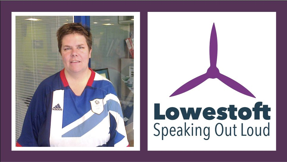 pam and lowestoft speaking out logo