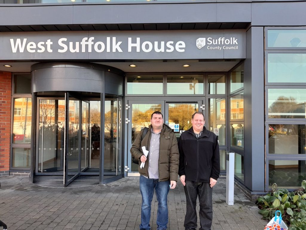 Steven and Josh West Suffolk house