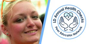 Daisy Driver and LD Annual Health Checks peer educator network logo