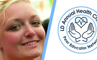 Daisy Driver and LD Annual Health Checks peer educator network logo