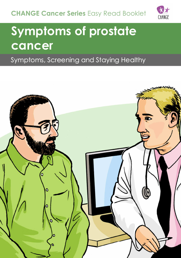 Symptoms of Prostate Cancer Easy Read Guide